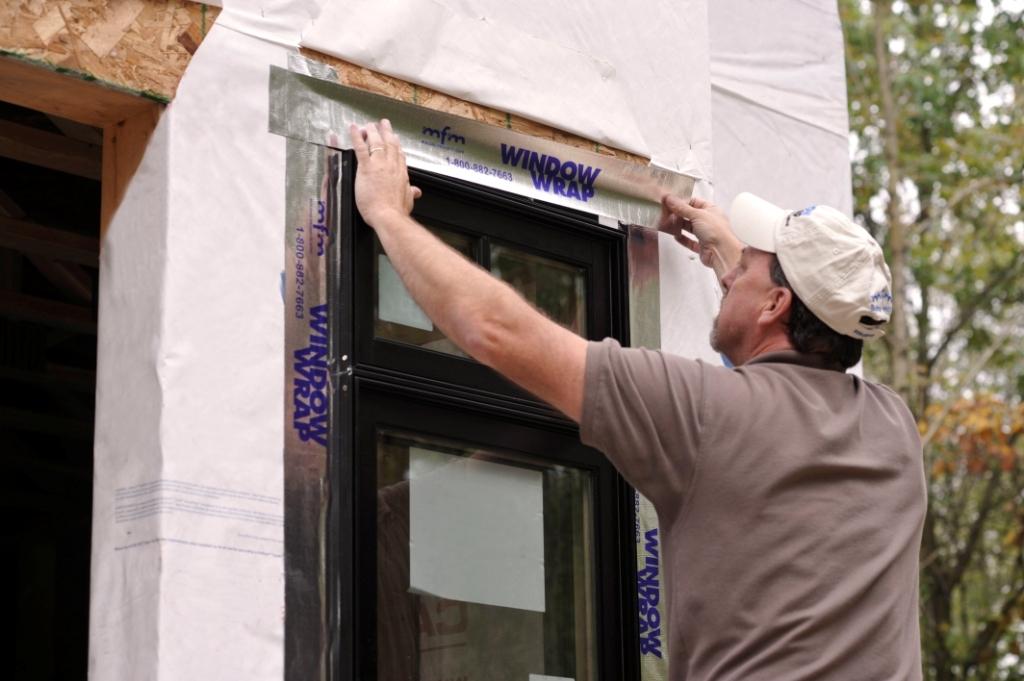 Flexible Header Flashing for Windows and Doors