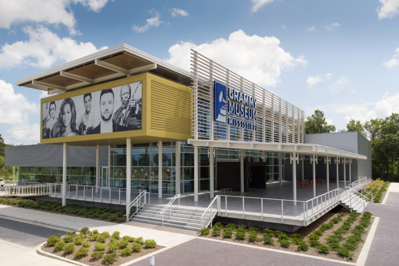 Grammy Museum Mississippi, Cleveland, Miss  | Metal Construction News