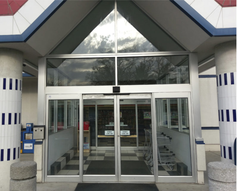 Specific egress hardware may be needed for commercial buildings with requirements to allow a person to exit the entrance door even though it is locked from ... & Considerations on Updating Walkthrough Doors | Metal Construction News