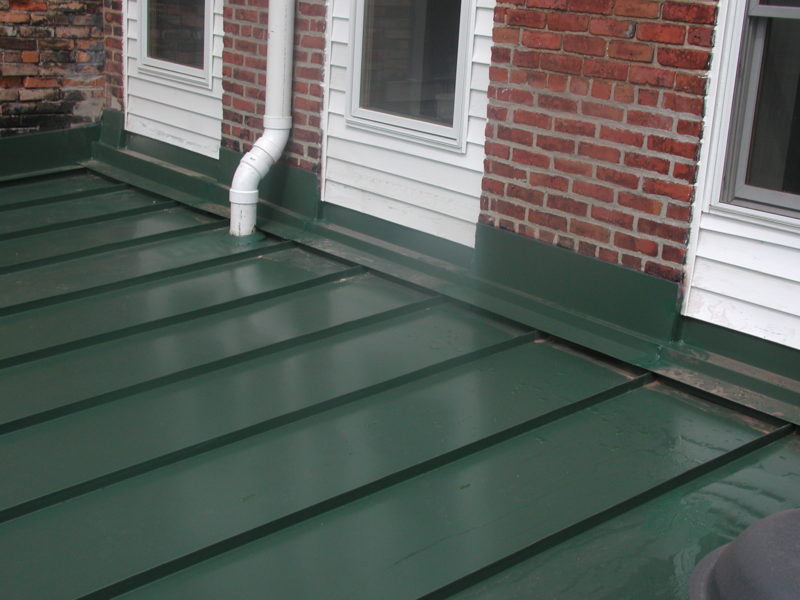 Installing Low Slope Metal Roofing Metal Construction News