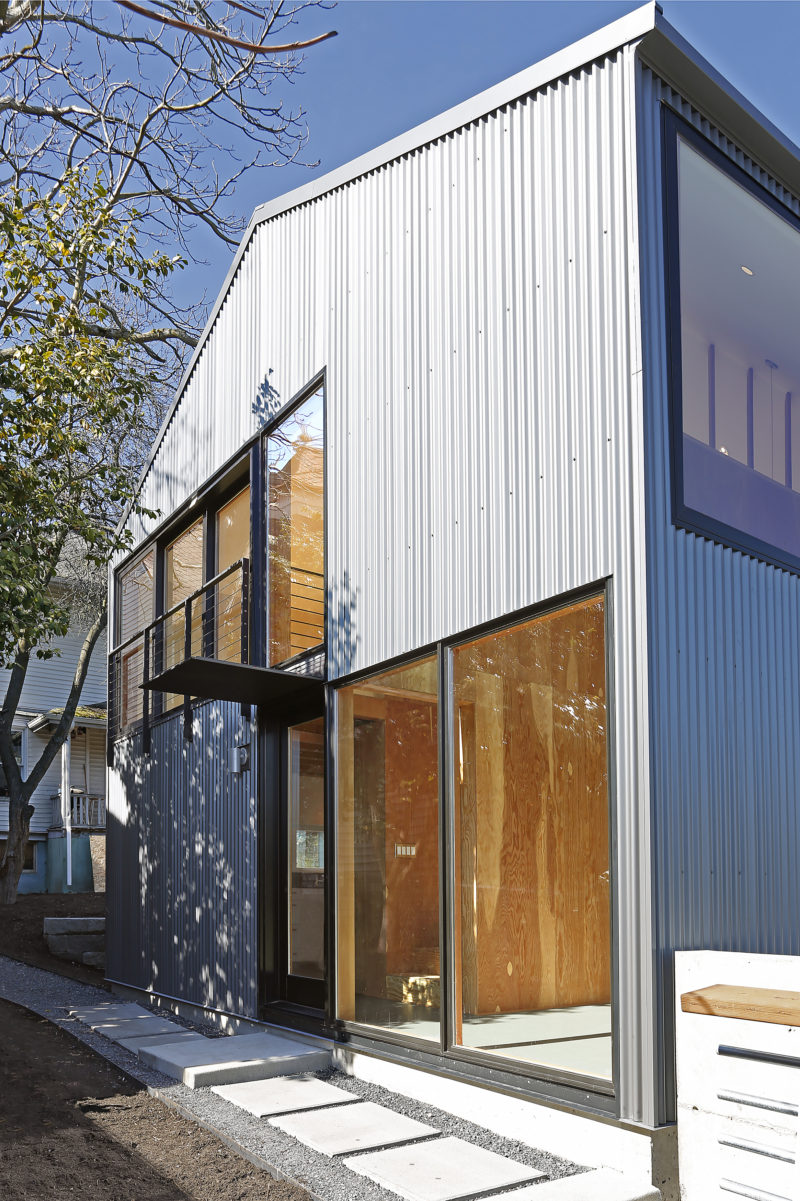Detached Accessory Dwelling Unit Seattle Metal