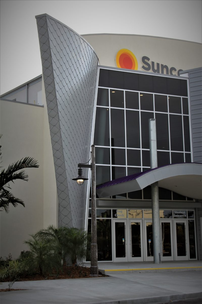 Suncoast Credit Union Arena Fort Myers Metal Construction News
