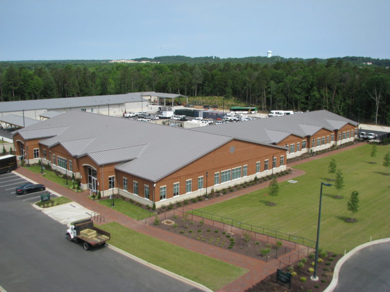 Facilities Operations Building And Storage Metal