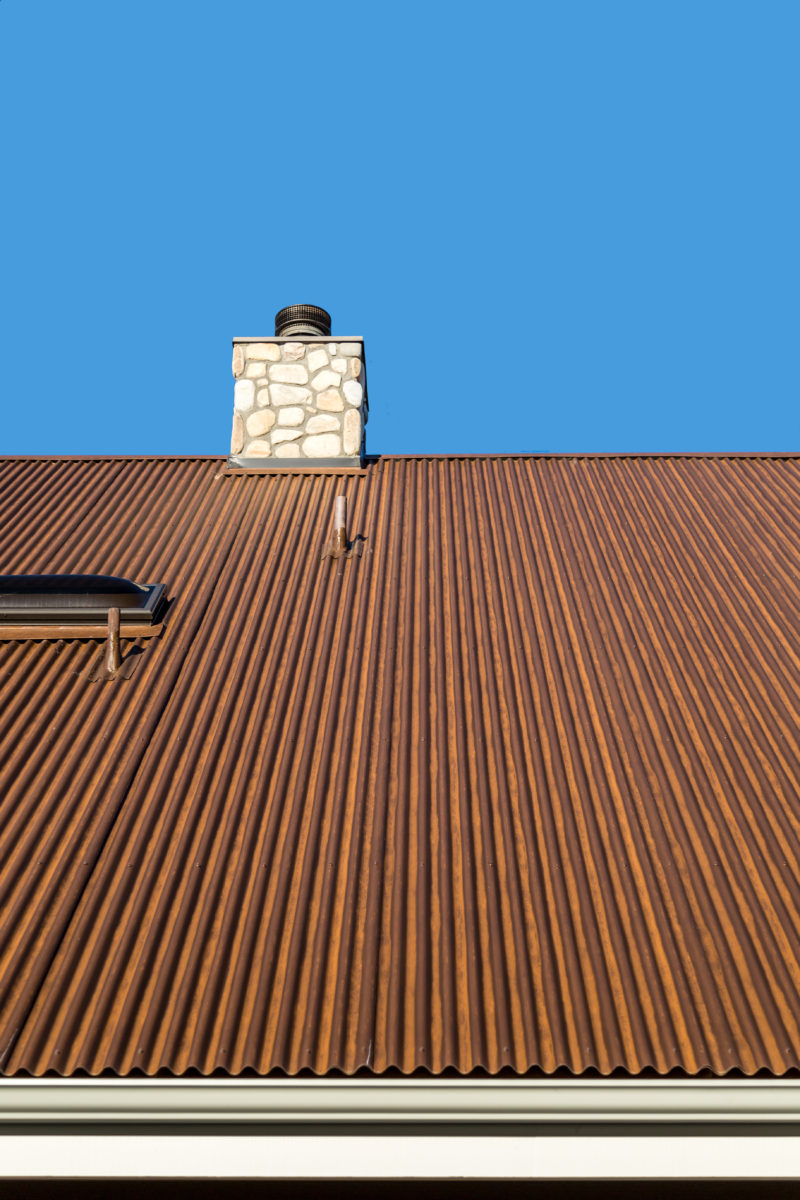 Rusted Metal Roofing Metal Construction News