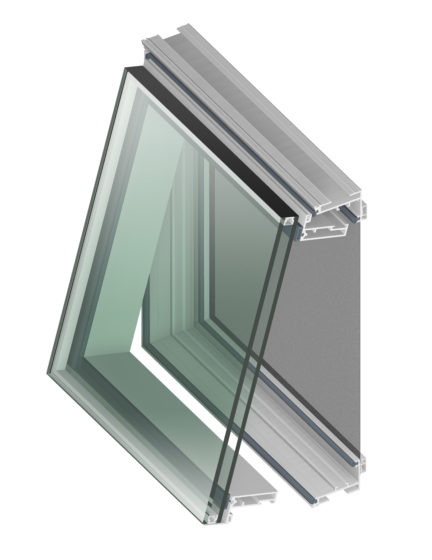 tubelite incs phantom 5000 zero sightline awning and casement windows feature a concealed aluminum frame design that is invisible from building exteriors - Metal Window Frames