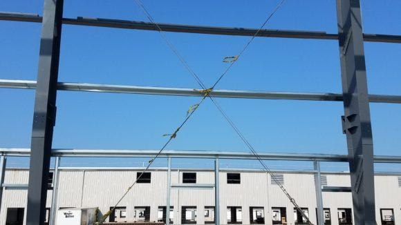 Temporary Bracing for Metal Buildings