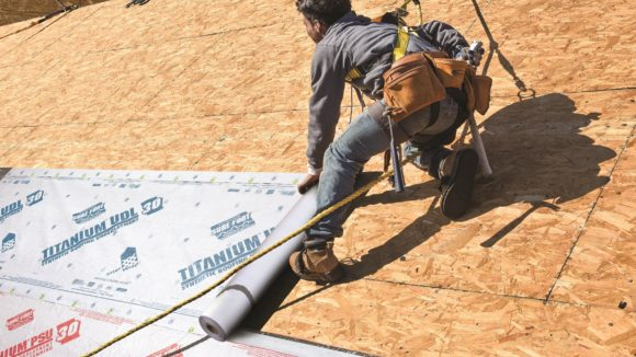 Synthetic Underlayment Supports Metal Roofing Systems