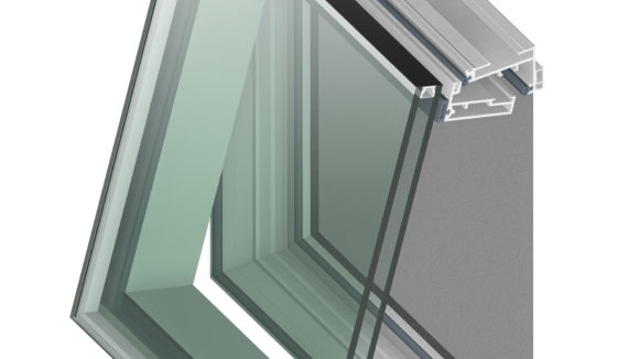 Window frames are invisible