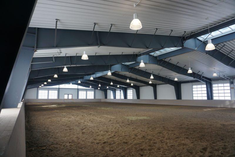 Winter Farms Arena Peoa Utah Metal Construction News