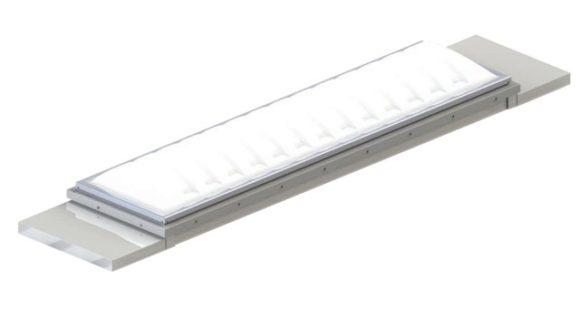 Curbs mount skylights