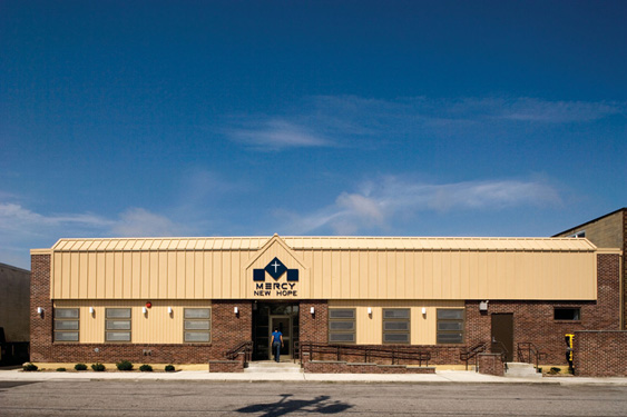 Mercy Medical New Hope Crisis Center Metal Construction News