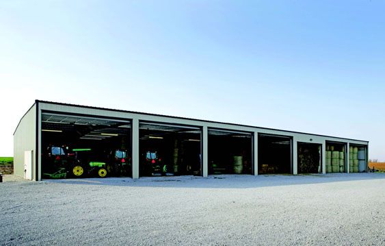 ... From Liberty Building Systems After Purchasing A Farm With Existing  Wooden Barns That Didnu0027t Fit Their Needs For Large Equipment And Mass Hay  Storage.
