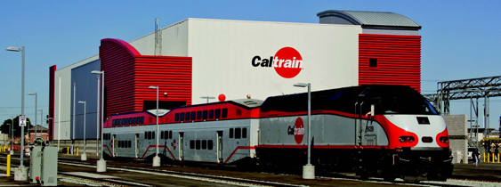 Caltrain Centralized Equipment Maintenance Metal