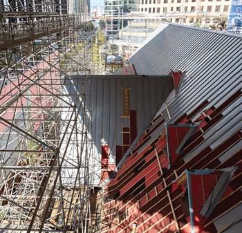 Renovating A Historic Cathedral Metal Construction News