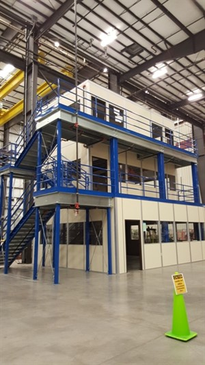 Mezzanine Design Requirements : Mcn design a mezzanine for quick space