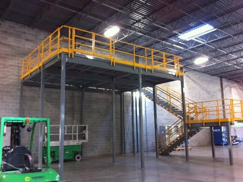Understanding mezzanine differences metal construction news for Mezzanine floor construction details