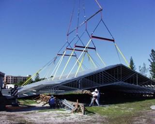 Long Span Metal Truss Installation Metal Construction News