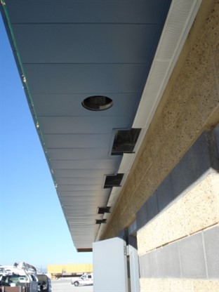 Mcn Metal Soffit Installation
