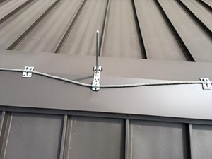 Installing Lightning Protection Systems Metal