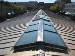 Beautiful When Installing A Skylight On A Slope Of Less Than 1/2:12, Use A Double  Layer Of Sealant On The Bottom End Lap To Limit The Wicking Of Water Back  Up Under ...