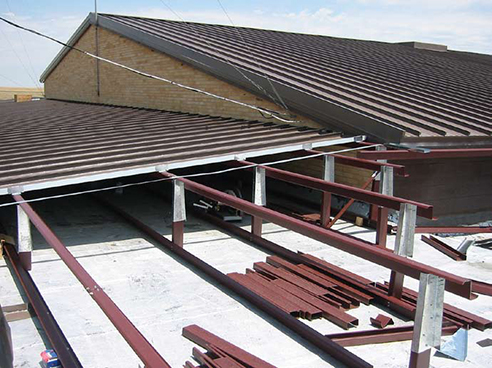 Retrofit Metal Roof Framing Systems Metal Construction News