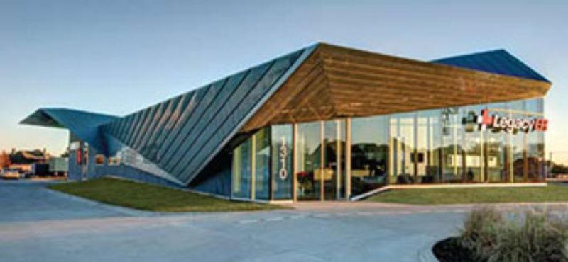 Healing Design Freestanding Medical Facility Metal