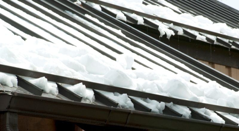 Choose The Correct Snow Guard System For Metal Construction News
