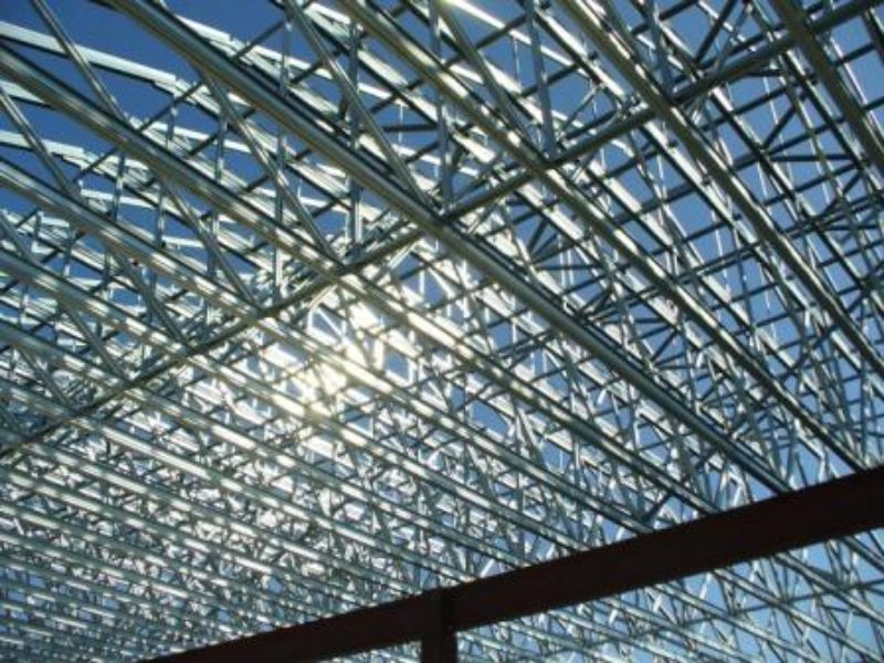 Taking On Roof Truss Installation Metal Construction News