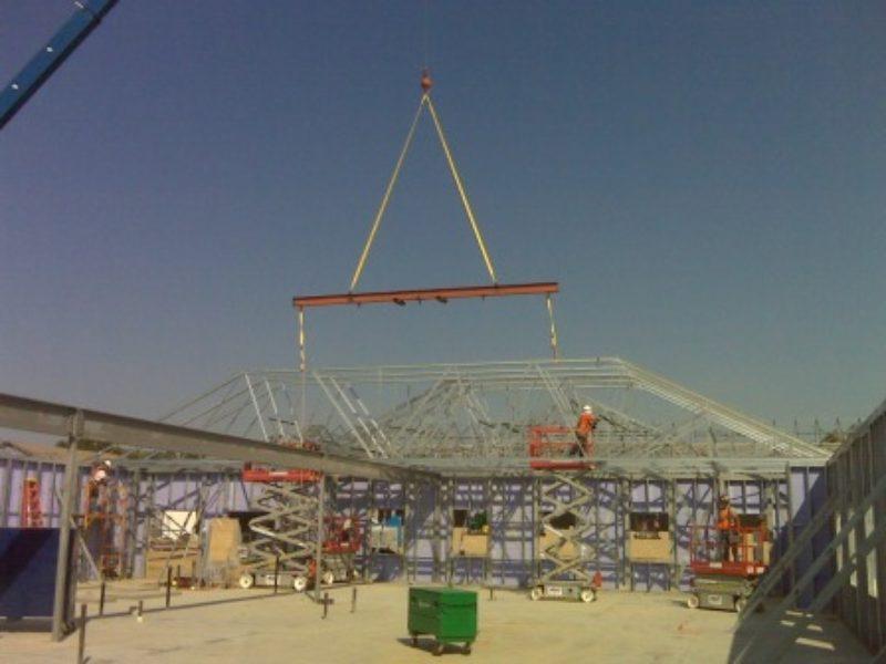 Taking on Roof Truss Installation | Metal Construction News