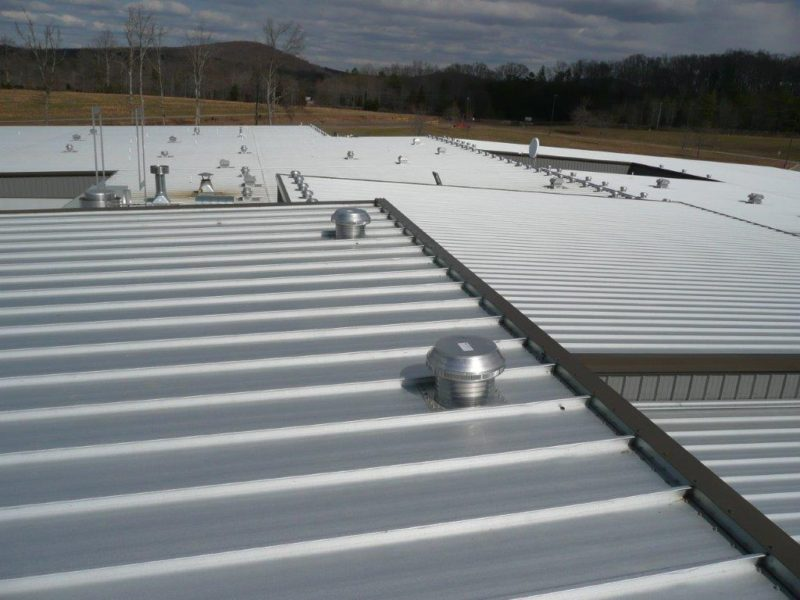 North Carolina School Retrofit Roof