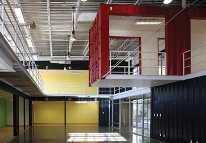 Building With Shipping Containers Metal Construction News