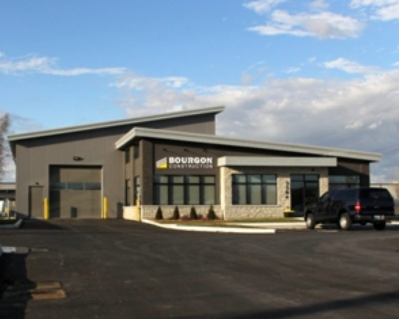 Bourgon Construction Office And Warehouse Metal