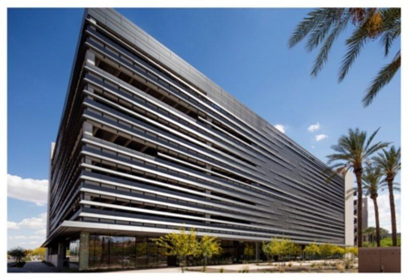 Phoenix Biomedical Campus Parking Garage Metal