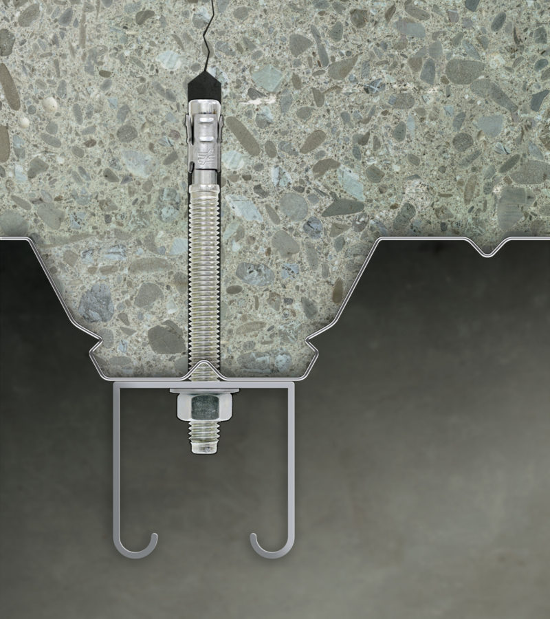 The Metal To Concrete Connection Metal Construction News