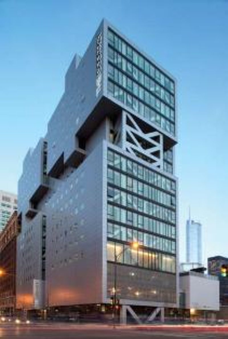 The Godfrey Hotel, Chicago | Metal Construction News