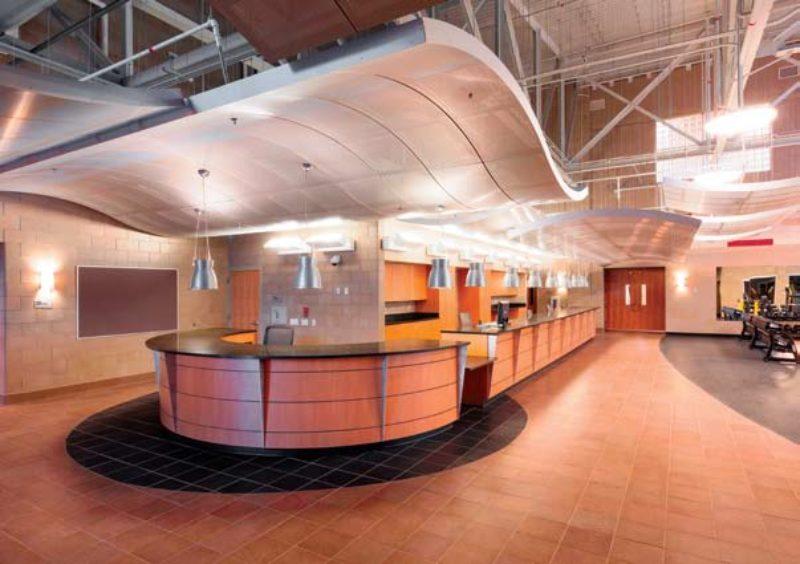 P 714 Physical Fitness Center U S Marine Metal
