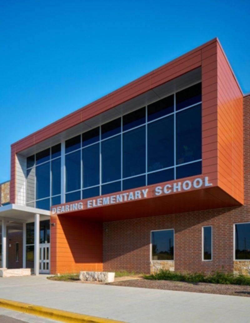 Dearing Elementary School Pflugerville Metal
