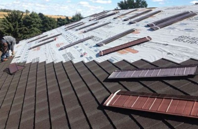 Inspection, Installation Drive Roof-over… | Metal Construction News