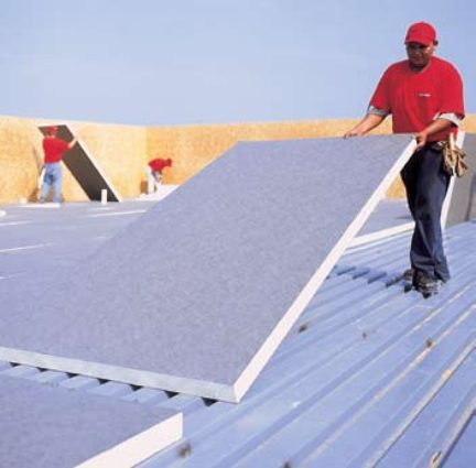 Firestone Iso 95 Gl Polyiso Insulation Metal