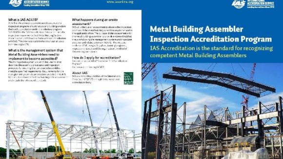 Metal Building System Inspections