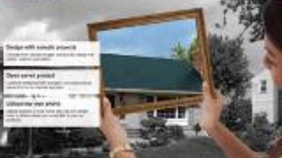 Software models roof designs