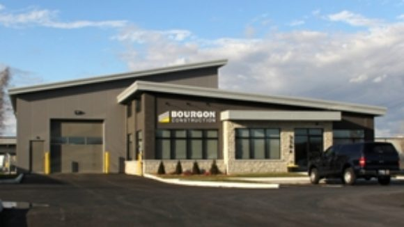 Bourgon Construction Office and Warehouse Building, Cornwall, Ontario, Canada