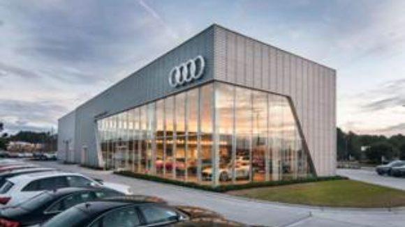 Rainscreen drives dealership design