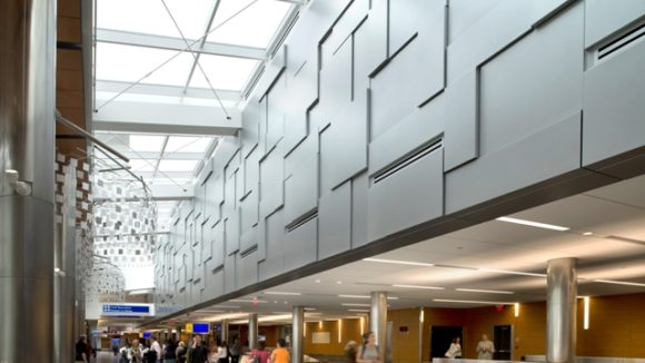 Baggage claim area at General Mitchell International Airport, Milwaukee