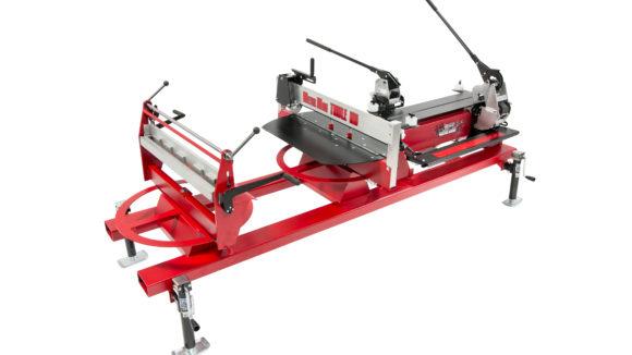 Panel machines notch, slit, hem
