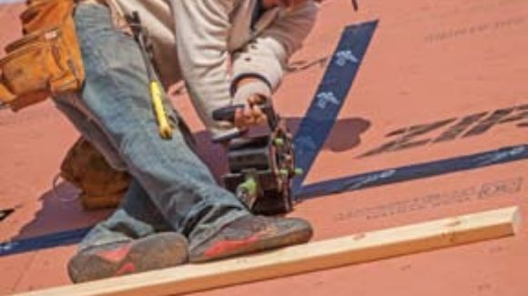 Roofing product pushes speed barrier