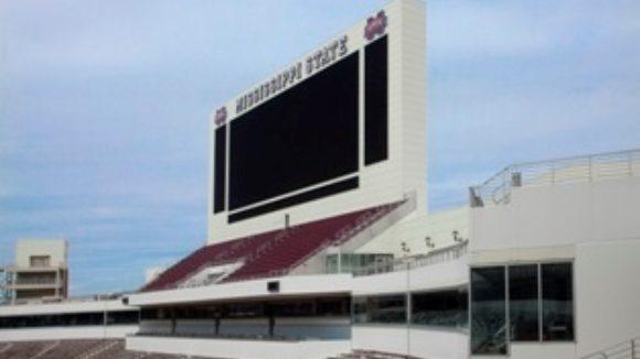 Davis Wade Stadium at Mississippi State University, Starkville, Miss.