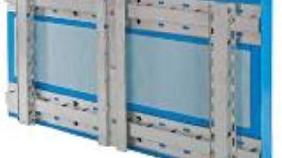Attachment system permits continuous insulation