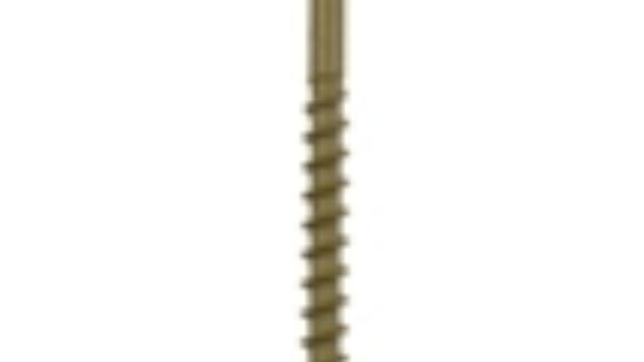 Multiple lengths of deck screws are available