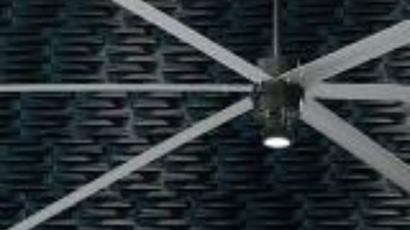 LED kit eliminates light shining through fan blades